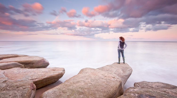 Landscape and seasape photographer, Anita Nichlson Photography - self portrait