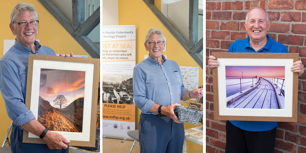 framed prints donated to north shields fishermans heritage project