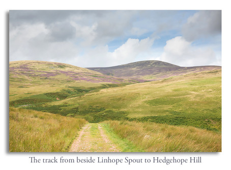 Hedgehope Hill walk from Hartside Farm, Breamish Valley