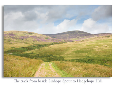 Hedgehope Hill walk from Hartside Farm, Breamish Valley, Northumberland