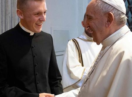 When Ryan met Pope Francis