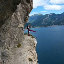 The world is a book, and those who do not travel read only a page! #climbing #flashback #summer #gop