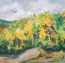 Reservoir in Autumn