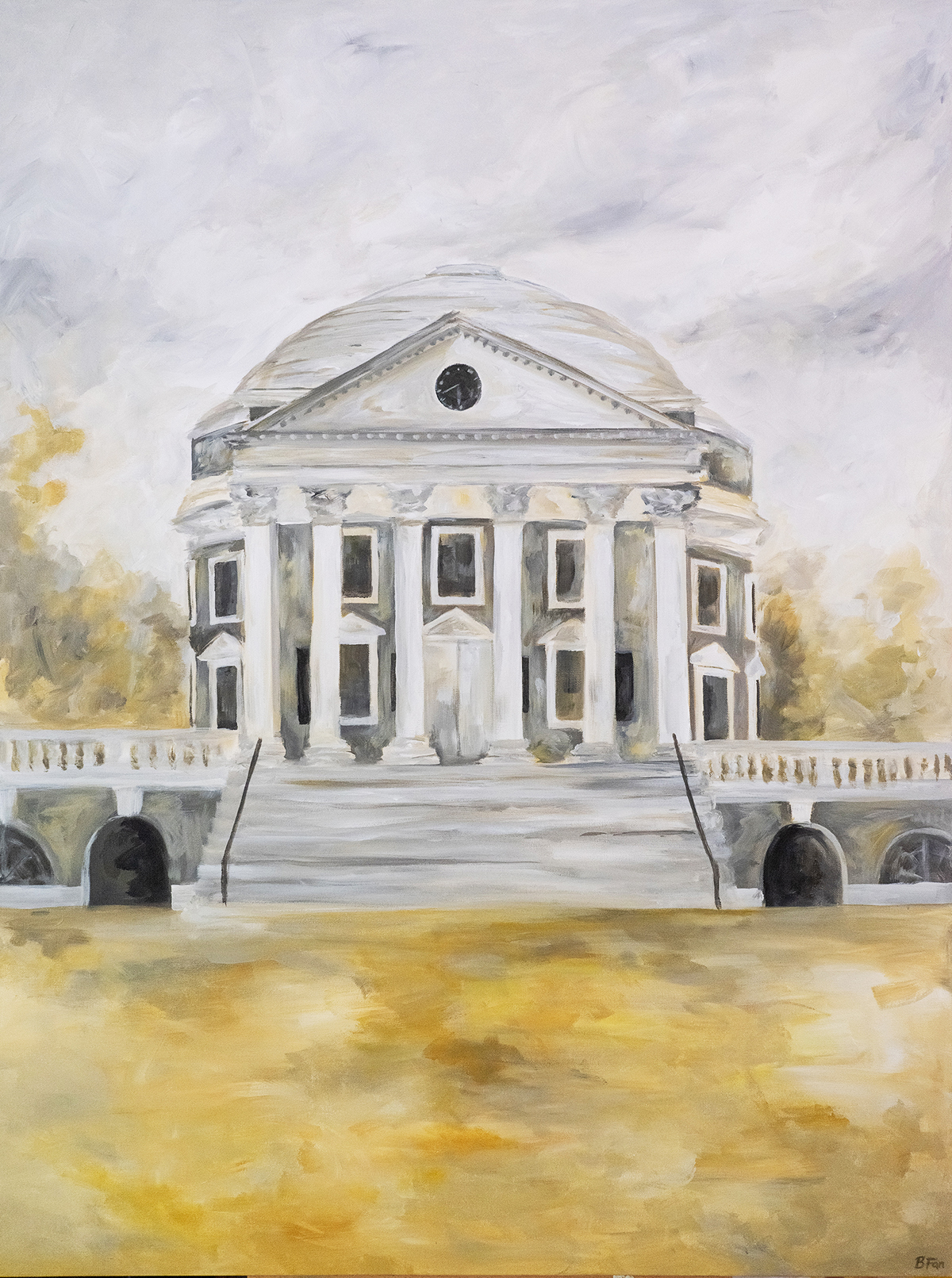 Rotunda in Yellow