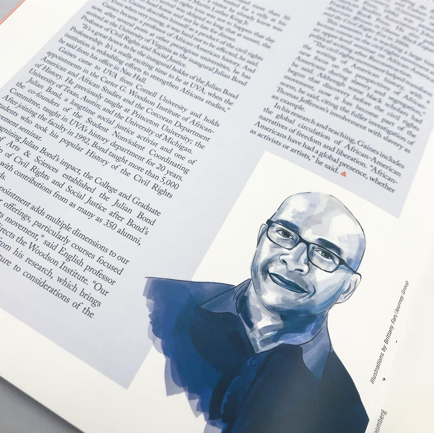 Magazine Portrait Illustration