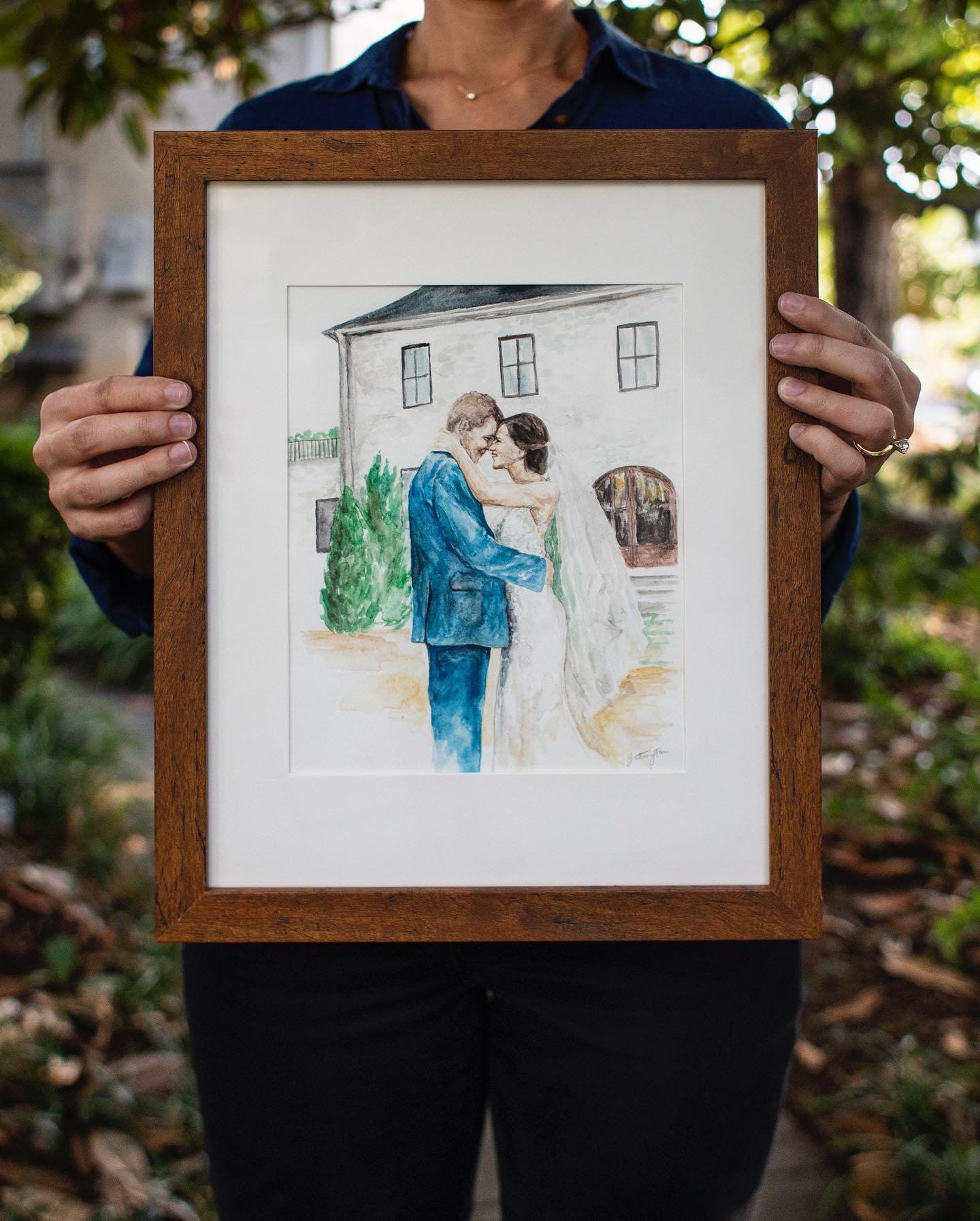 Wedding Portrait Illustration