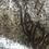 Thumbnail: Hare silhouette felting kit on grey Harris tweed
