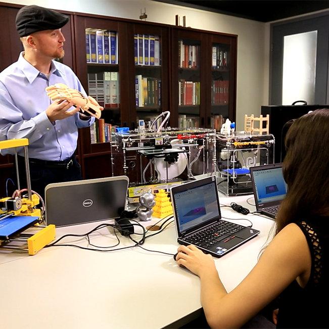 Treinamento em impressão 3D