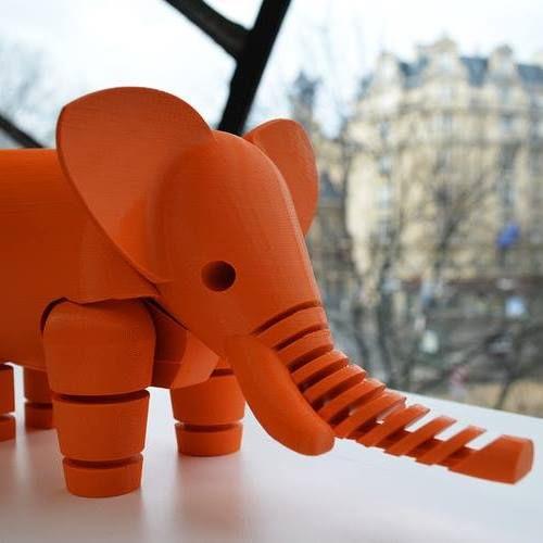Impressão objetos em impressora 3D