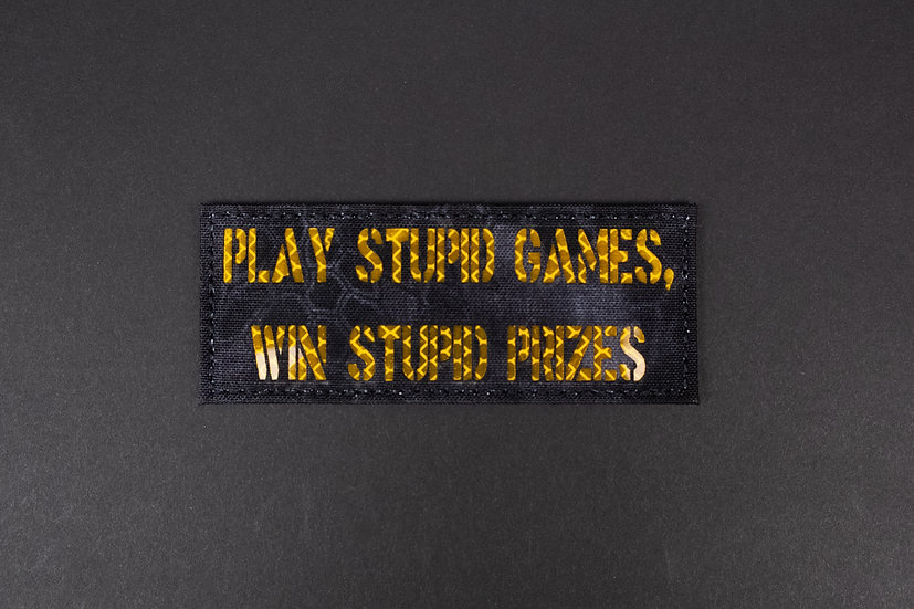 Play Stupid Games Patch
