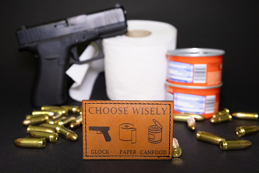 Glock Paper Canfood Patch