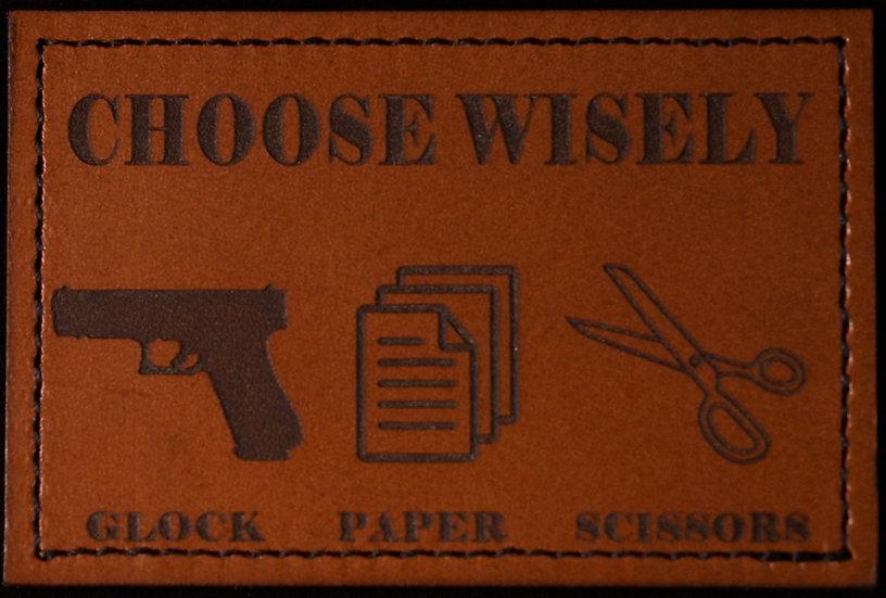 Glock Paper Scissors Patch