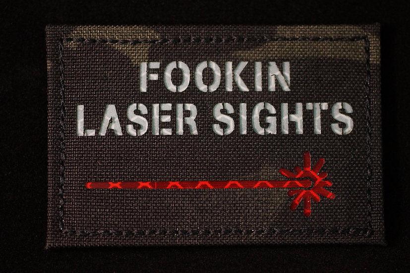 Fooking Laser Sights Patch