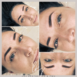Powder brow