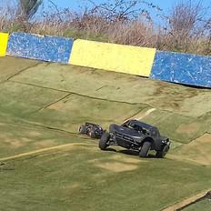Racing on the 'Big Oval' Circuit...