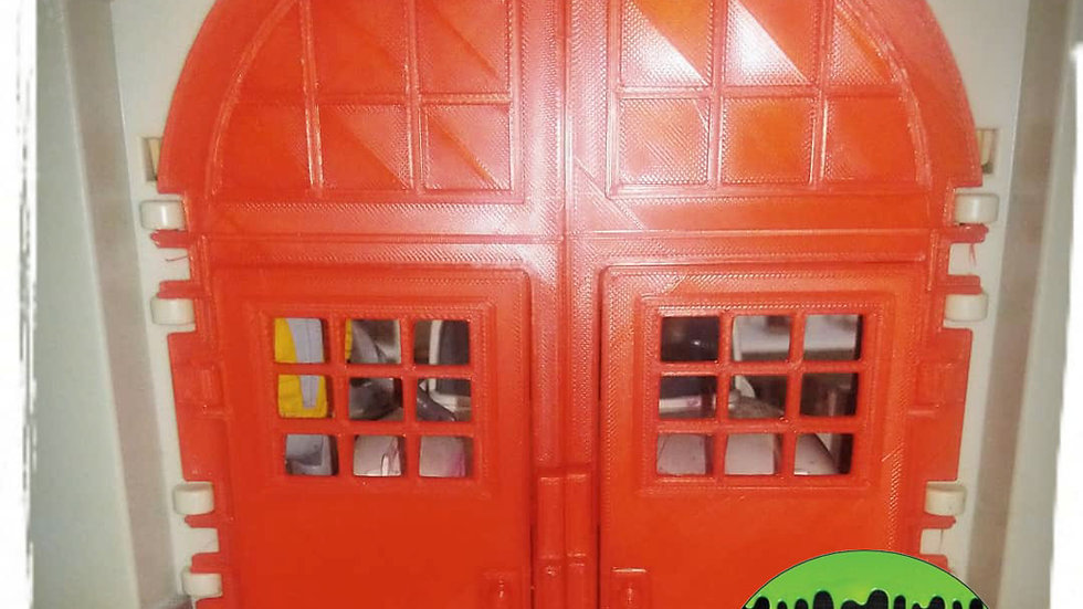 FIrehouse Replacement Doors for Kenner's the Real Ghostbusters Firehouse