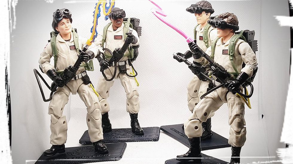 Flexible Goggles for Plasa Series Ghostbusters (Set of Four)