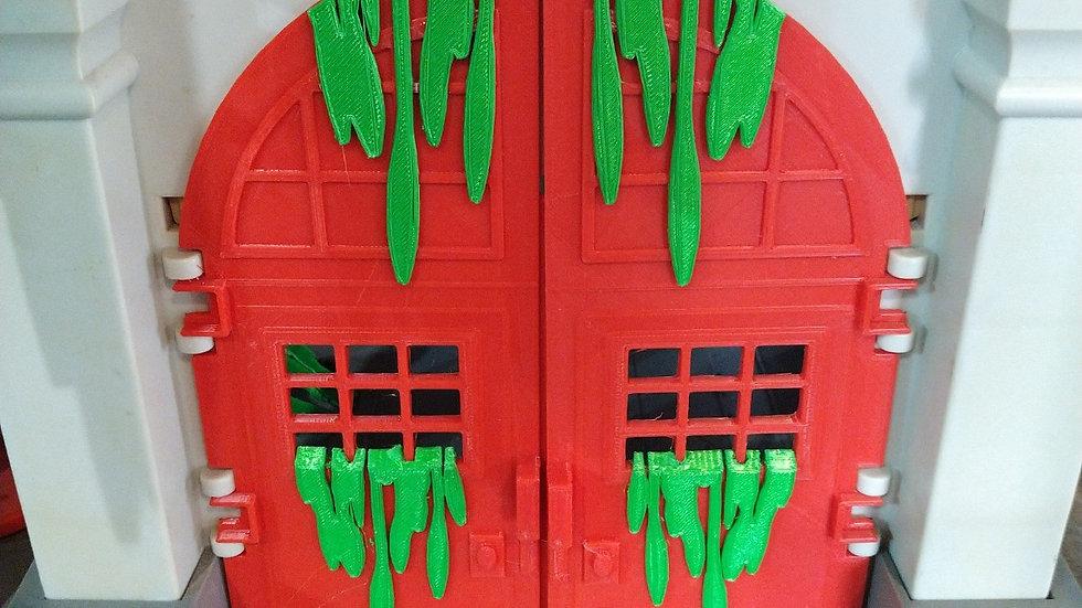 Slimed Firehouse Doors