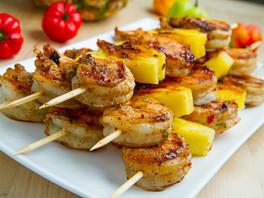 Grilled-Jerk-Shrimp-and-Pineapple-Skewer