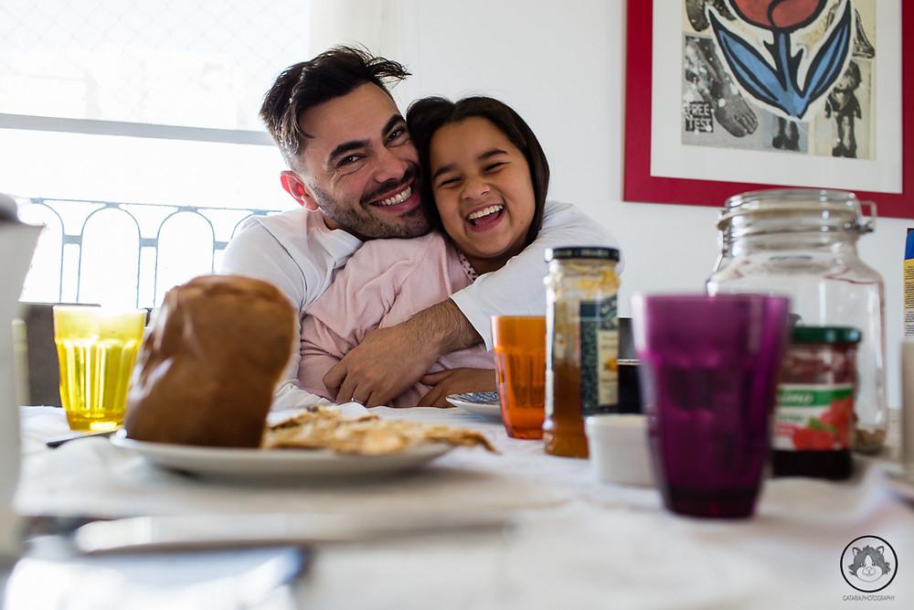 pai gay e filha