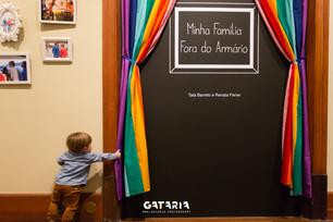 Abertura exposição Minha Família Fora do Armário