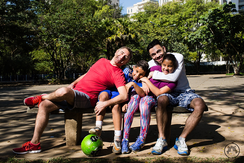 fotografia de família homoafetiva