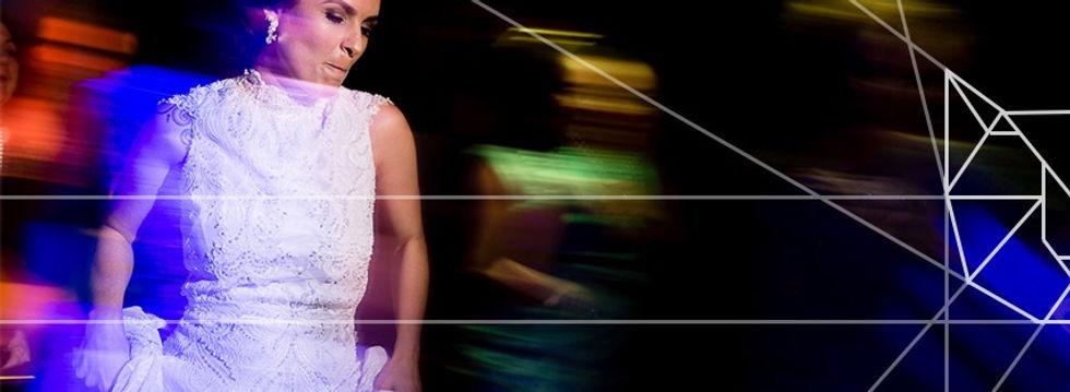 Fotografia de noiva em casamento homoafetivo