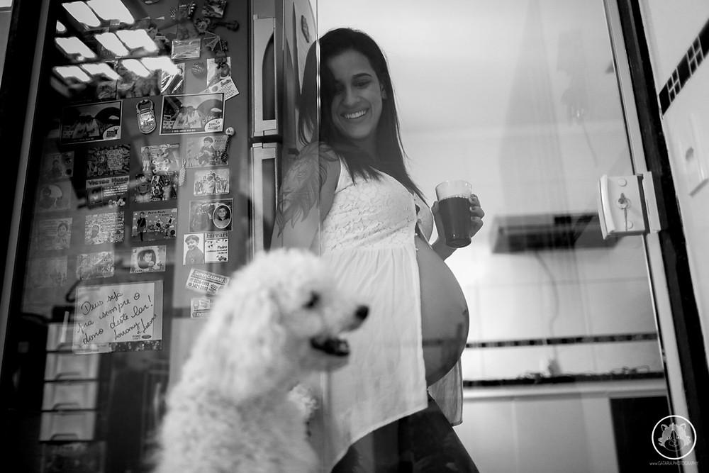mãe lésbica grávida
