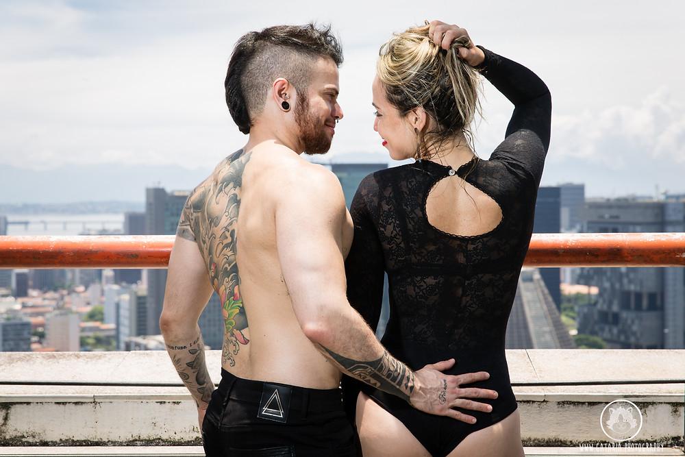 fotografia de casal lgbt