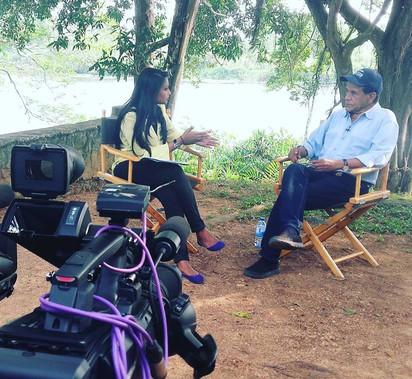 Interviewing Chandran Rutnam