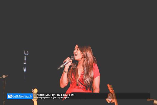 Unuhuma Live in Concert by Tehan Perera