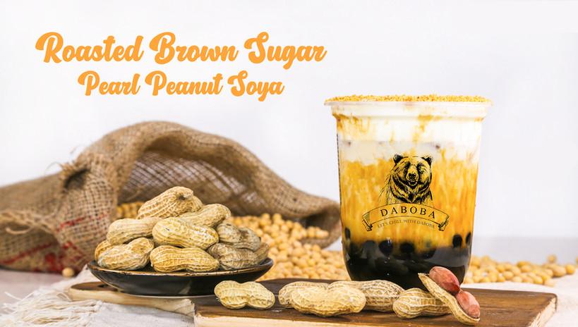 Roasted Brown Sugar Pearl Peanut Soya