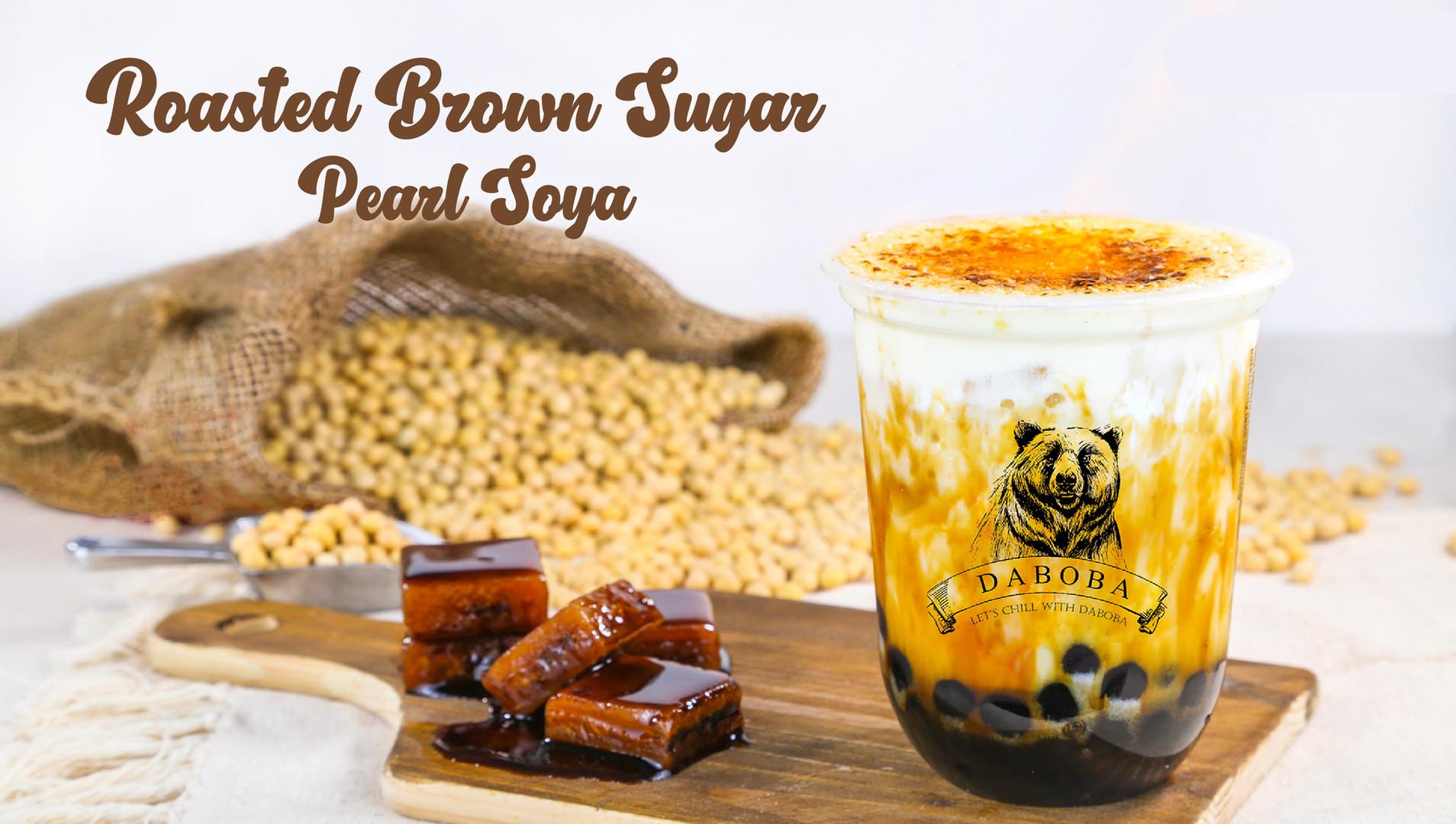 Roasted Brown Sugar Pearl Soya