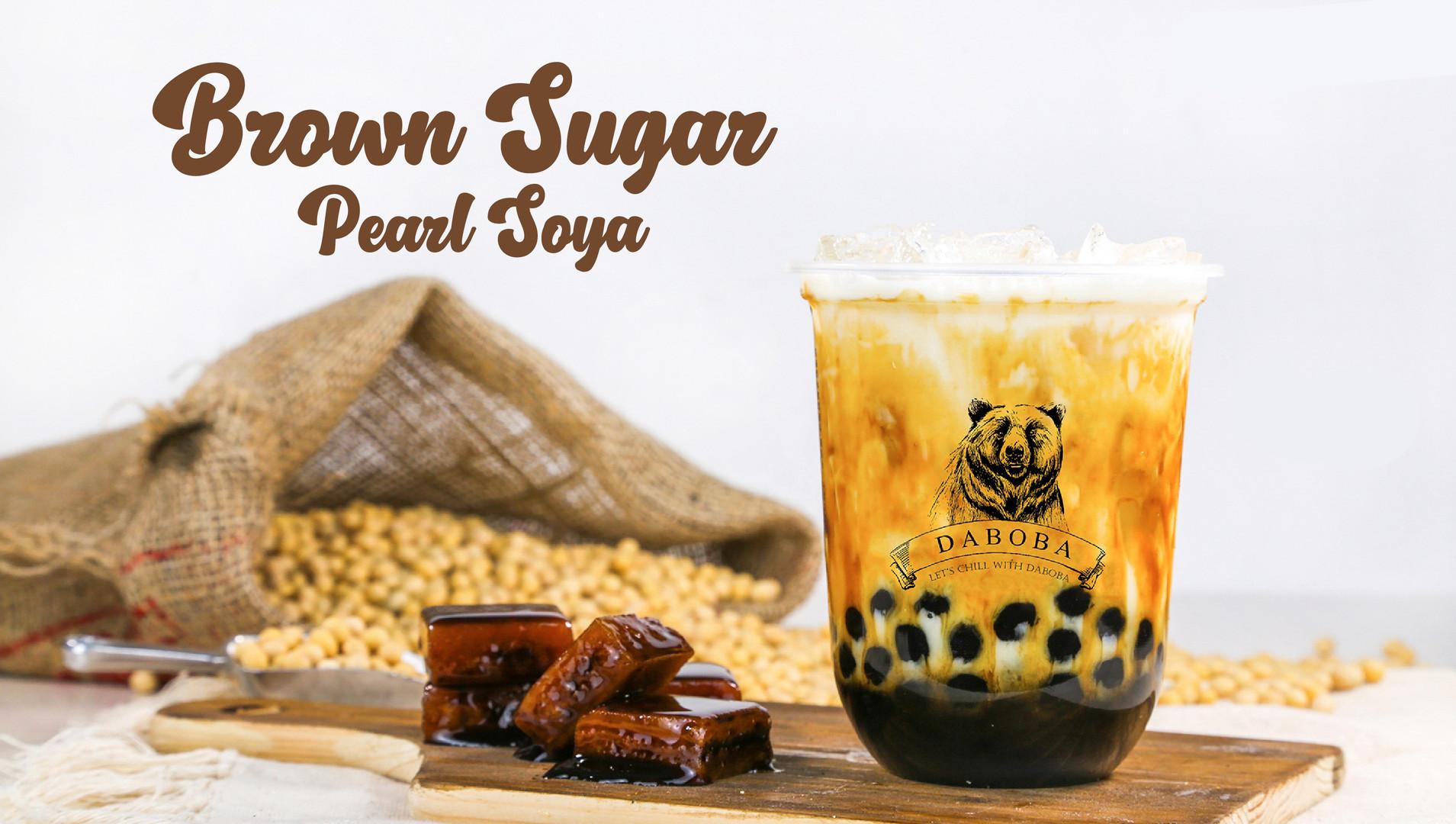 Brown Sugar Pearl Soya