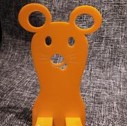 porta smartphone-tablet arancio