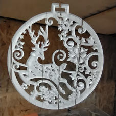 decorazione renna