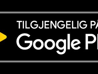 Nå med egen app på Google Play