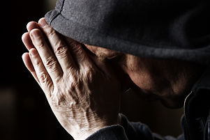 prayer (special toned photo f/x, focus p