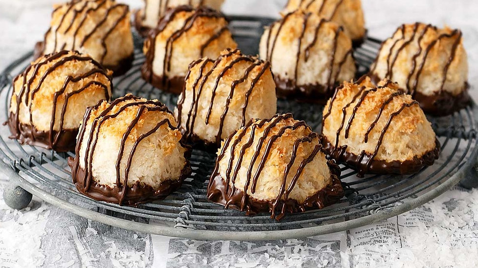 Cat's Candy Special Order - Classic Coconut Macaroons
