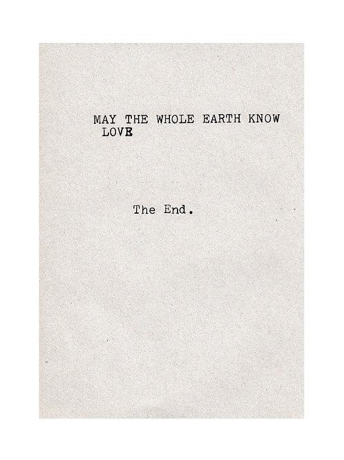 Earth Love (A3 Print)
