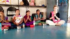 Anne Visits Manavsadhna in India