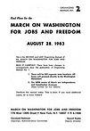 1963 March on Washington Organzing Manual by Bayard Rustin
