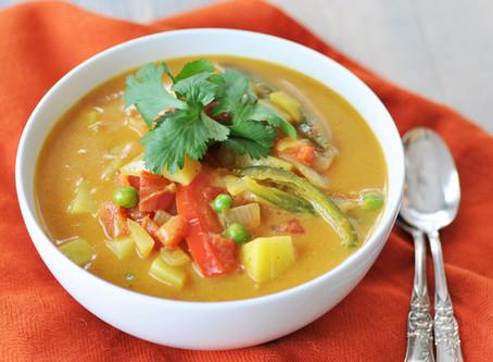 Potato Curry Soup