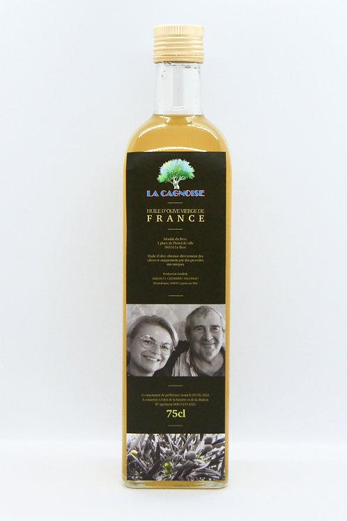 Huile d'olive vierge de Montaleigne (75 cl)
