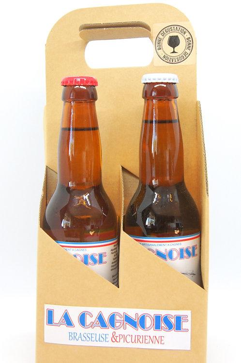 Pack 4 bières