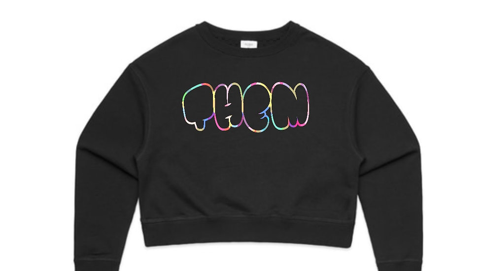 Bubble Crew Crop