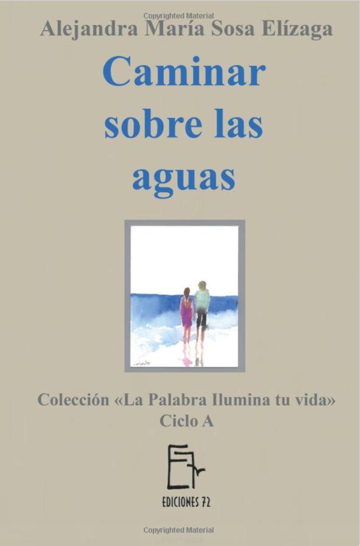Libro Caminar sobre las aguas Alejandra Sosa