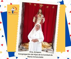 Hna Amparo de Congregación de Hijas de la Caridad de Maria Inmaculada