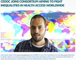 CEDOC joins consortium aiming to fight inequalities in health access worldwide