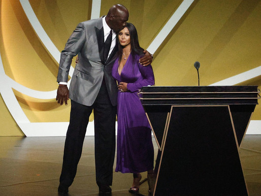 Kobe Bryant Inducted into Basketball Hall of Fame